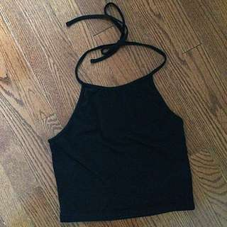 BRANDY MELVILLE Halter Crop Top