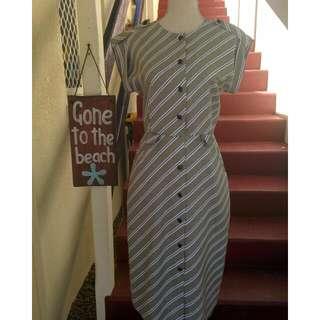 Vintage Dress Stiches Plus Gold Label Dress Size 6-10