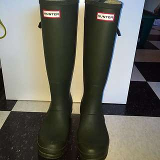 Original Back Adjustable Hunter Boots