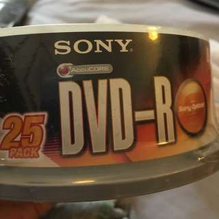 Recordable CDs DVDs