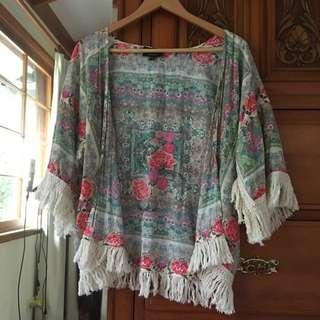 Size S fit to M Kimono