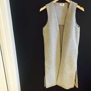 Morning Mist Sleeveless Jacket/Vest