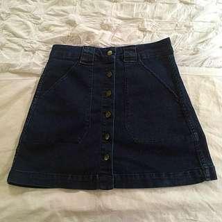 Size 6 Target Denim Skirt