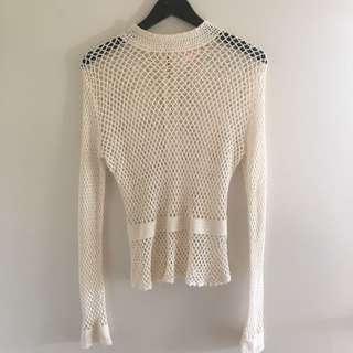 Sass And Bide Crochet Top