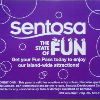 5pcs Sentosa Monorail Tickets (valid Till 09 June 2018)
