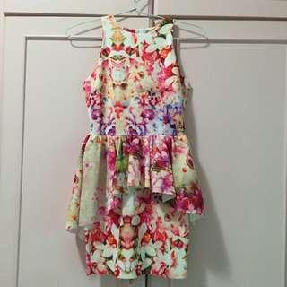 SALE!! Spring Peplum Dress