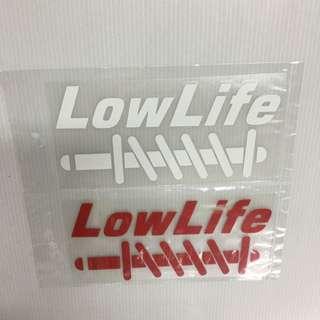 Car Stickers Size 16 X7cm