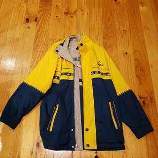 Vintage Adidas Reebok Rain Jacket