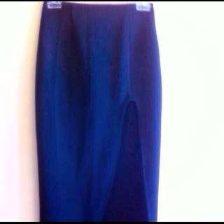 MAXIM High Waist Skirt With Side Split