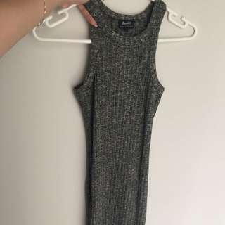 Bardot Dress - Just Past Knee Length