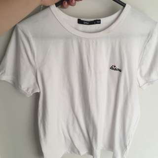Sports girl Tee Size Large Fits Small