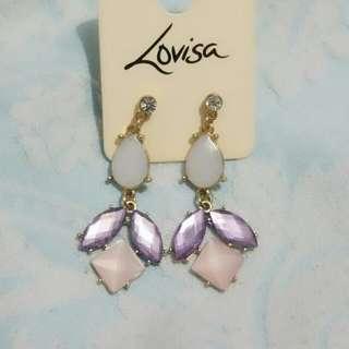 Lovisa Purple Earrings