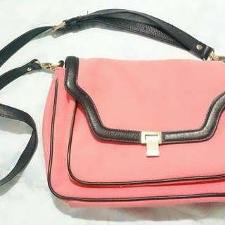 Peachy Pink Saba Shoulder Bag