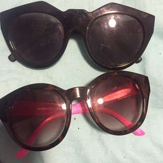Mink Pink And Le Spec Sunglasses