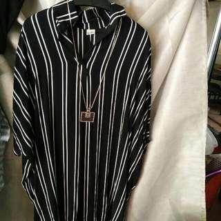 長版韓風襯衫