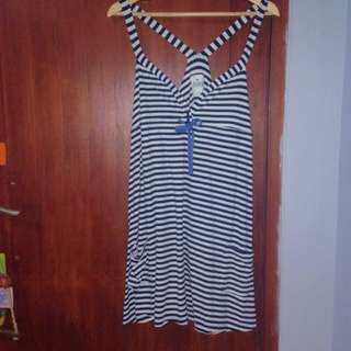 stripes dress by pink victoria's secret