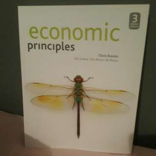 Economic Principles 3rd Edition and Study Guide