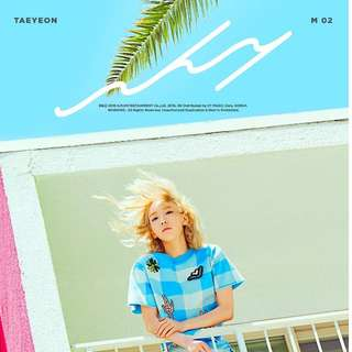 Taeyeon 2nd Mini Album - WHY (Unsealed + Official Poster)
