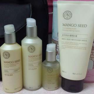 Faceshop Mango Seed Series Skin Care (Price Reduce From Rm240 To Rm200