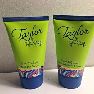 Taylor by Taylor Swift Scented Bath Gel & Body Lotion