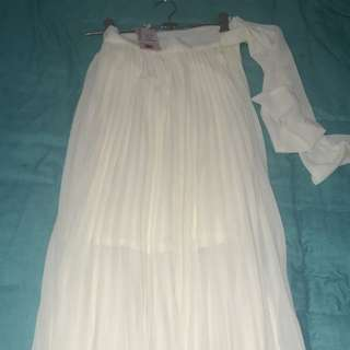 Showpo Long Flowing Skirt