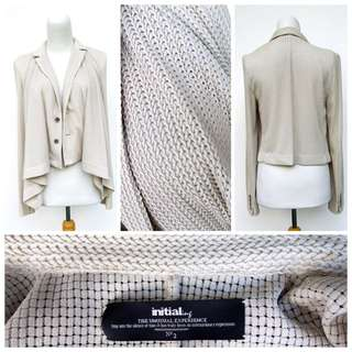 Initial HK Soft Casual Taupe Jacket