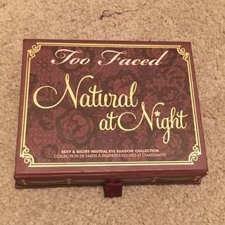(HOLD)Too Faced Natural at Night Palette