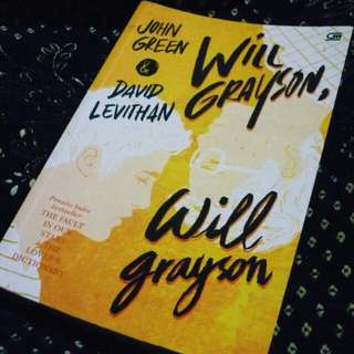 Novel Will Grayson, Will Grayson by John Green & David Levithan