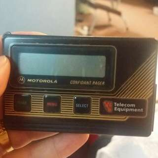 Classic Motorola pager Bid From $250
