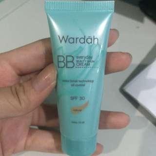 wardah bb cream in natural