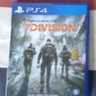 Tom clancy's Division Ps4