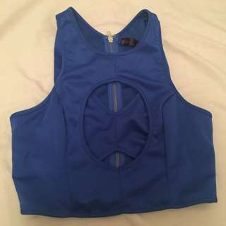 Ally Blue Top