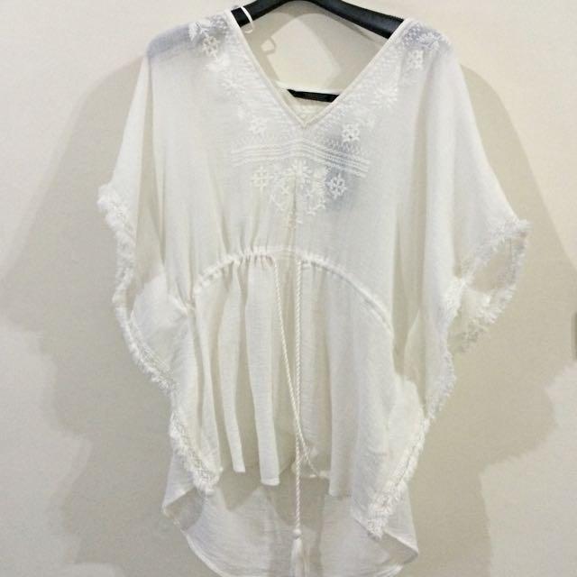 純棉品牌波希米亞罩衫