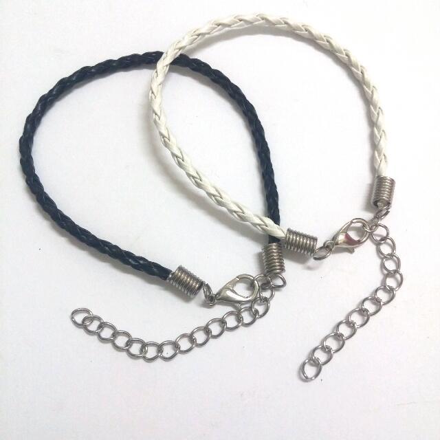 三股麻花編織手鍊