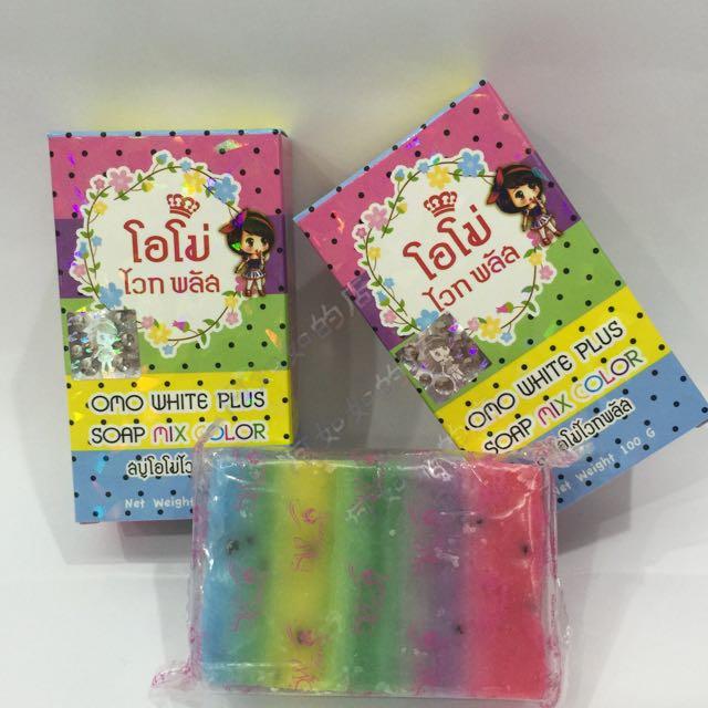 泰國 彩虹美白皂