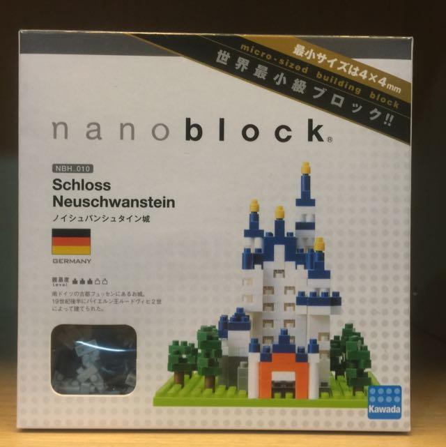 德國 🇩🇪新天鵝堡 Nano Block