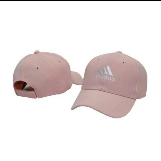 Adidas同款粉紅老帽 (含運)
