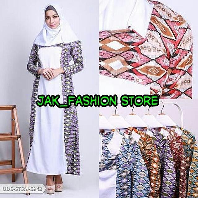 Amirzya Batik Longsleeve Muslim Set
