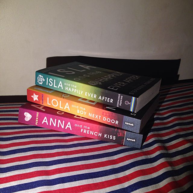 Anna And The French Kiss Trilogy