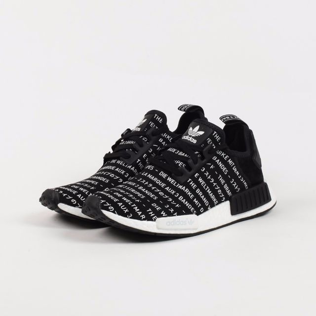 "2c72e6949553b INSTOCKS AUTHENTIC ADIDAS NMD R1 ""THREE STRIPES"" BLACKOUT"