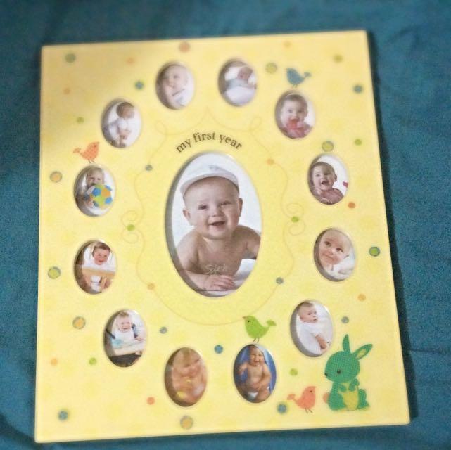 Baby's 1st year photo album
