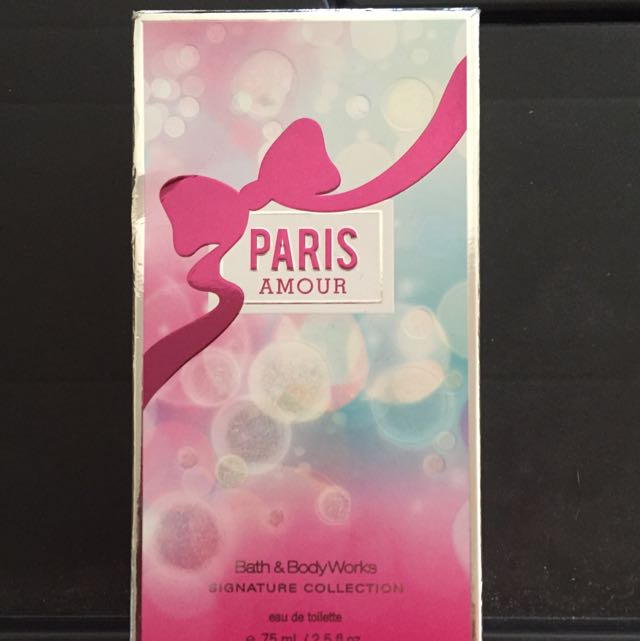 """**RESERVED** B&BW """"PARIS AMOUR"""" FRAGRANCE"""