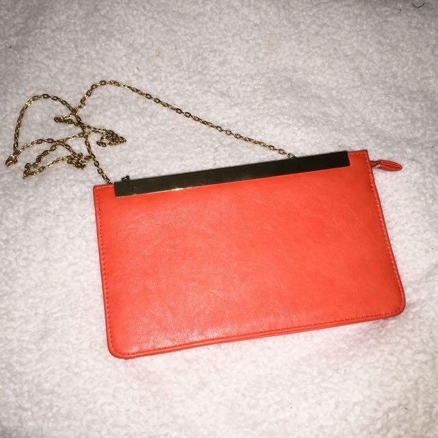 Colette Hayman Orange Side Bag