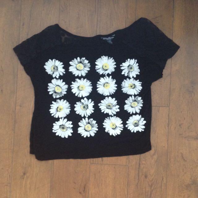 Daisy Patterned Shirt