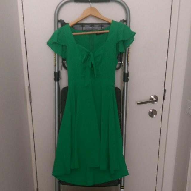 Dangerfield Green Dress | PENDING