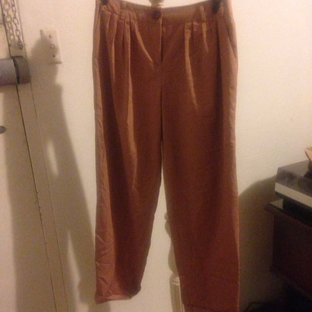 Dusty Pink Work Pants Size 6