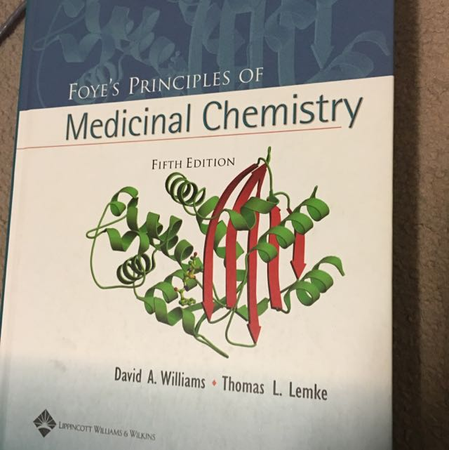 Foyes Principles Of Medicinal Chemistry 5th Ed