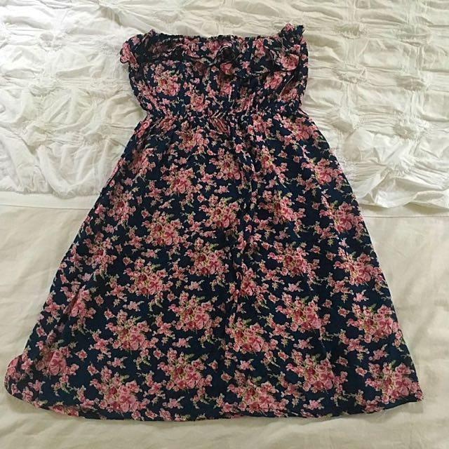 Free Size Floral Tube Dress