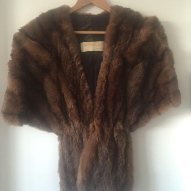 Genuine Fur Stole