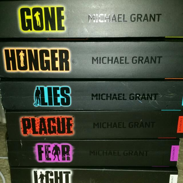 Gone Series By Michael Grant *pending*